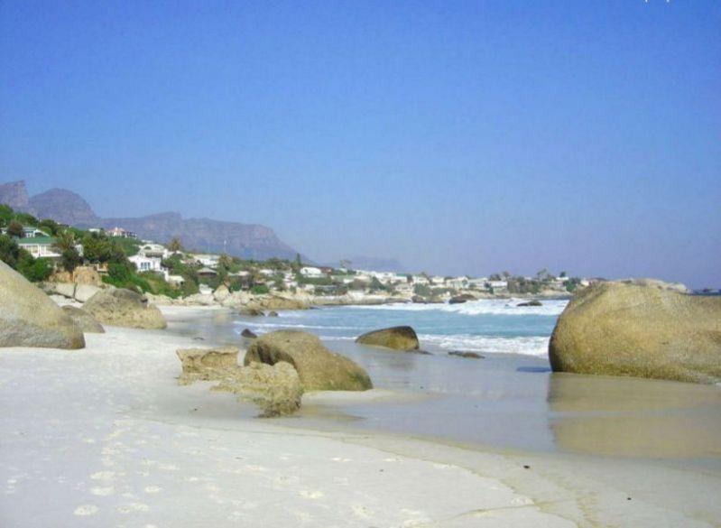 Clifton  bunglaows seen from 3rd beach