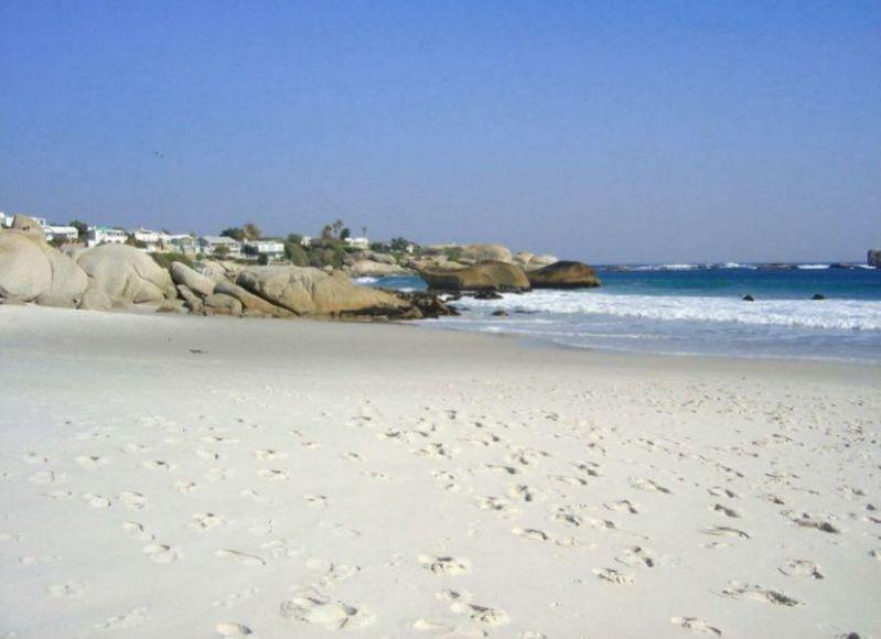 Clifton rocks and beach