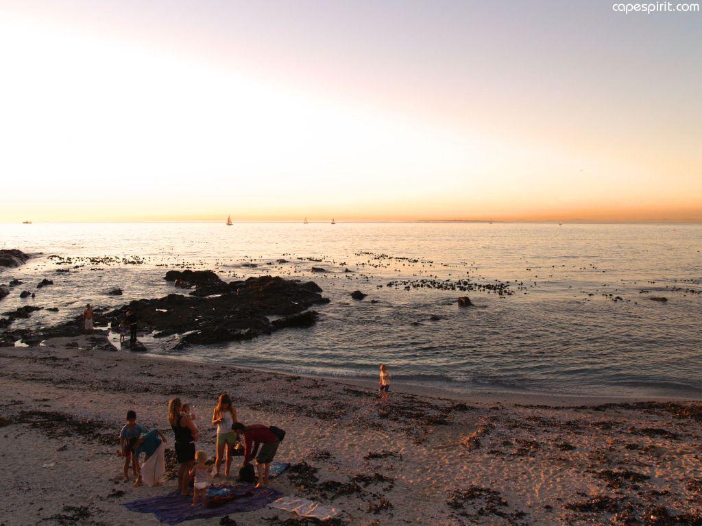 Sea point beach picnic