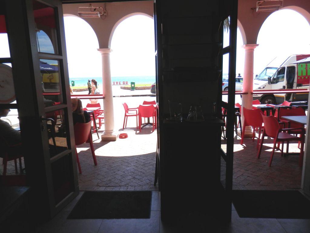 Camps Bay coffee shop