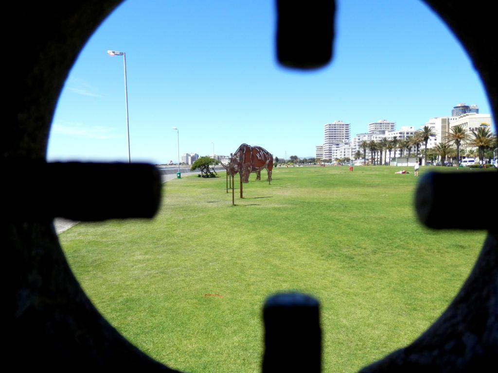 Seapoint art on the promenade