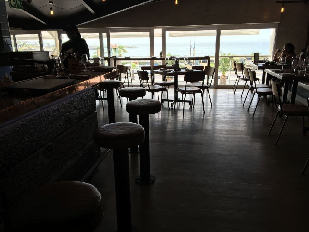 Dalliance: view of Table Bay takes you way beyond the mall-bience of Victoria Wharf