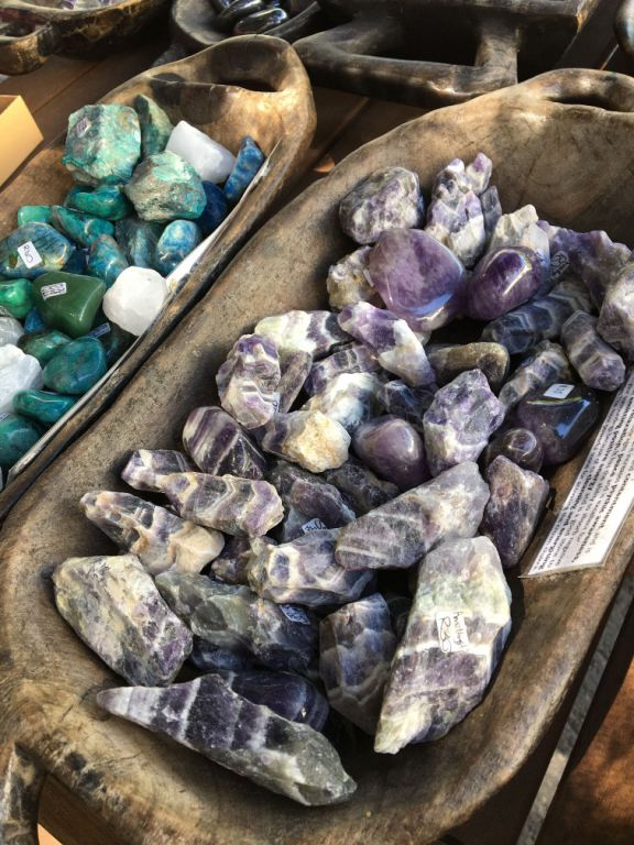 Fossilised lavender from the Flintstone era