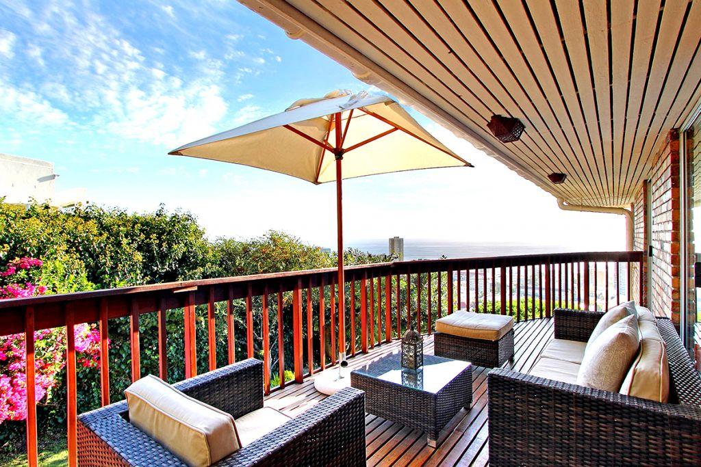 Balcony seating & Views