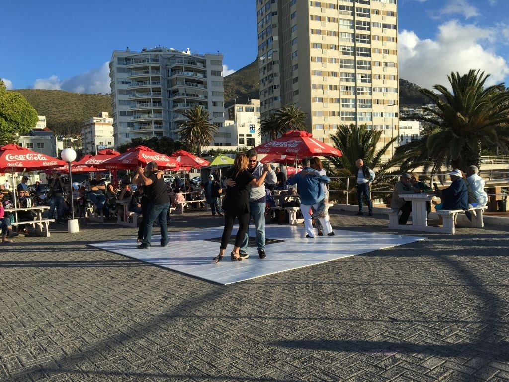 Shake it like a Polaroid picture: Sunday Tango social at Cape Town's Sea Point Pavilion