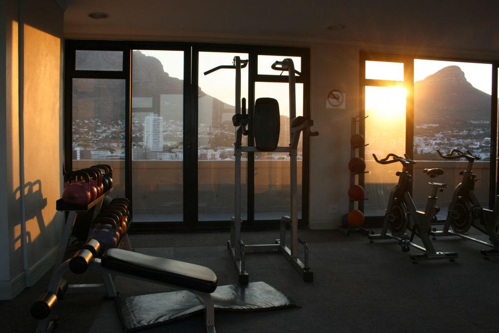 13 Gym with Lions Head views